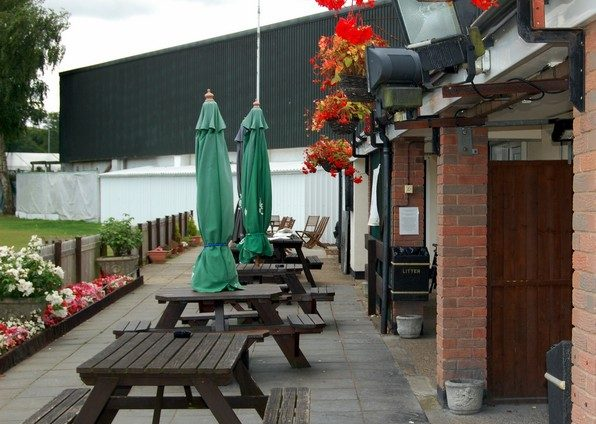 Lordswood Social Club Outside Terrace Lordswood Chatham Kent